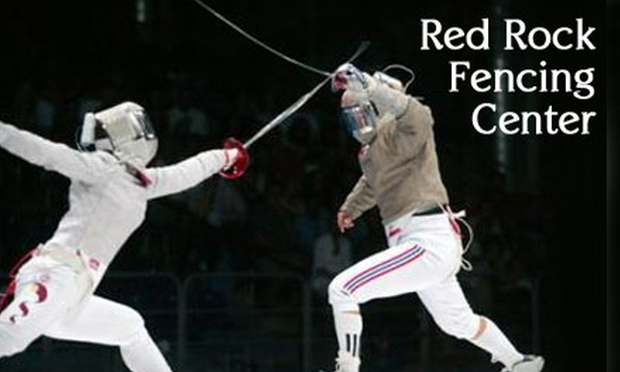 Red Rock Fencing Center - Paradise: $30 for Three Introduction to Fencing Classes at Red Rock Fencing Center ($75 Value)