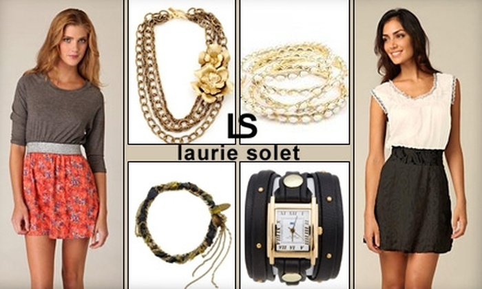 Laurie Solet - Multiple Locations: $29 for $75 Worth of Boutique Apparel and Accessories at Laurie Solet