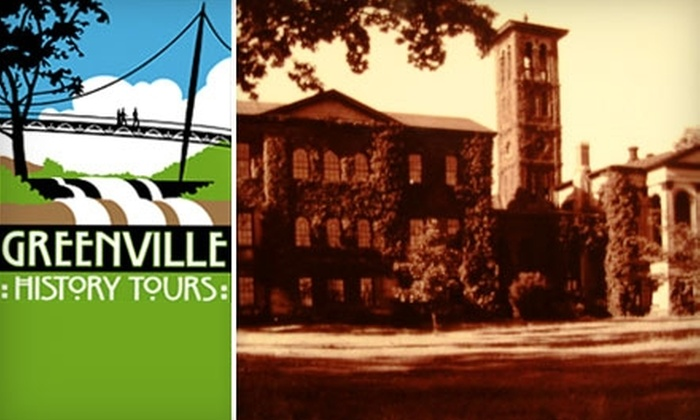 Greenville History Tours - West End: $6 for a One-Hour Historic West End Walking Tour with Greenville History Tours (Up to a $12 Value)