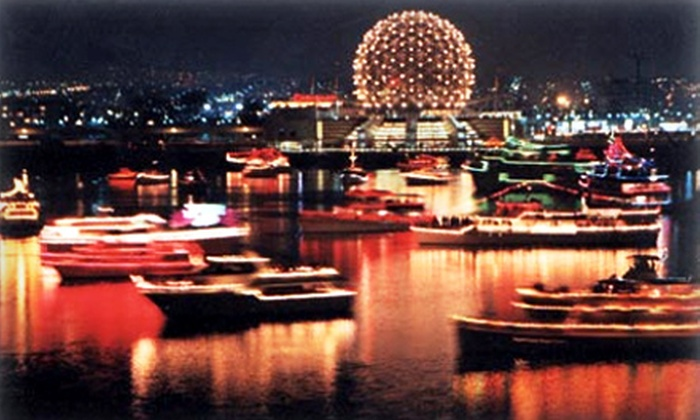 Vancouver Cruises - Downtown Vancouver: $29 for Carol Ship Cruise with Beverages for Two from Vancouver Cruises ($65.40 Value)