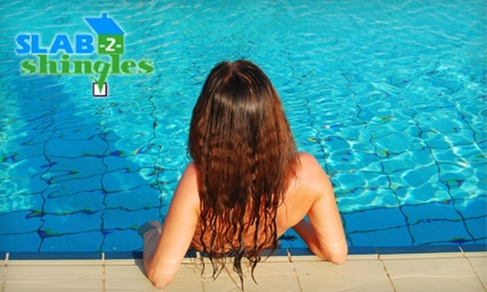Slab-2-Shingles - Old Naples: $40 for One Month of Pool-Cleaning Service from Slab-2-Shingles ($80 Value)