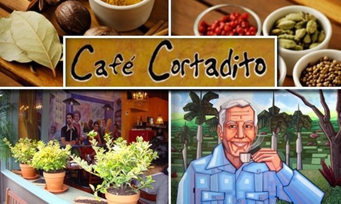 Cafe Cortadito - East Village: $15 for $30 Worth of Cuban Fare at Café Cortadito