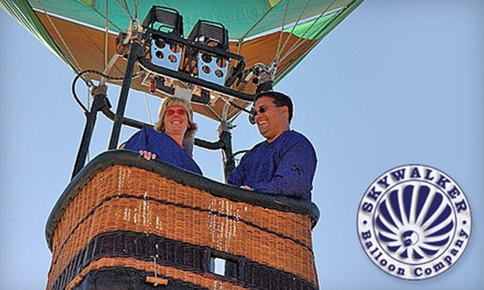 Skywalker Balloon Company - Ogden Valley: $80 for a Half-Hour Hot Air Balloon Ride from Skywalker Balloon Company ($150 Value)