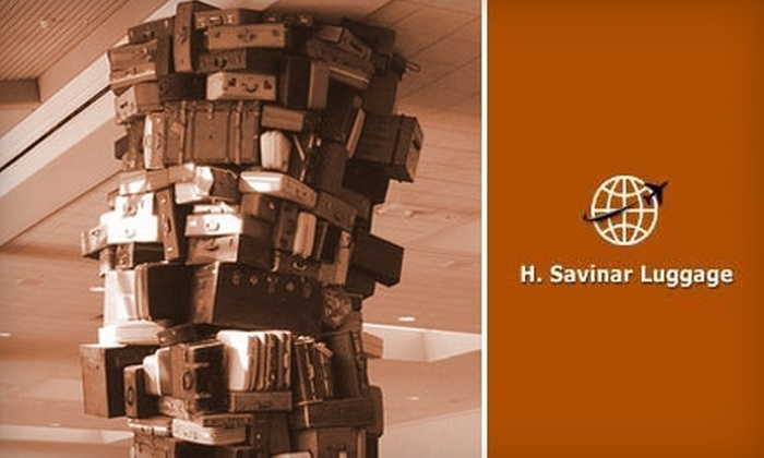H. Savinar Luggage - Canoga Park: $100 for $300 Worth of Delsey Luggage at H. Savinar Luggage