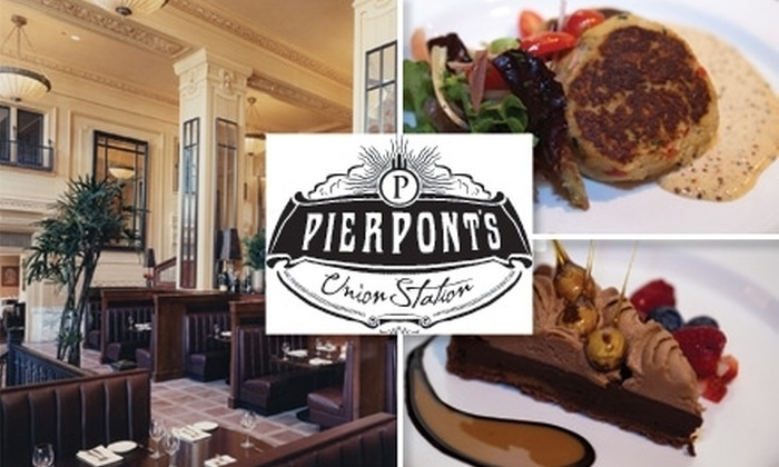 Pierpoint's at Union Station - Kansas City: $25 for $50 Worth of Steaks and Seafood at Pierpont's at Union Station