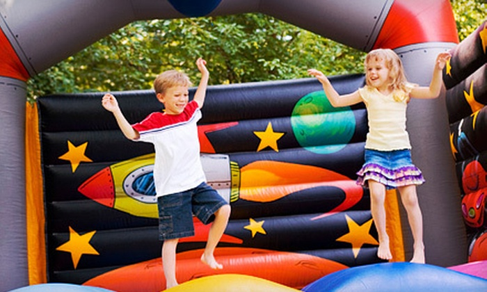 Fun Services - South Central Omaha: $69 for a Full-Day Inflatable Moonwalk Rental from Fun Services ($140 Value)