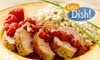 Let's Dish! - Multiple Locations: $75 for Four Self-Assembled Meals and Two Ready-Made Items from Let's Dish! (Up to $125 Value)