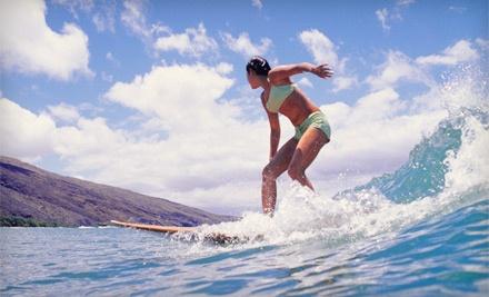 1-Hour Surf Lesson for 1 and a School T-Shirt (a $95 value) - Santa Barbara Seals Surf School in Santa Barbara