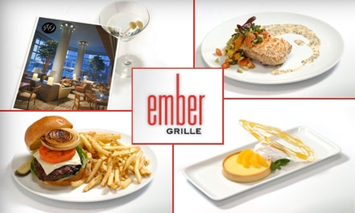 Ember Grille - Second Ward: $35 for $70 Worth of Grilled Gourmet Cuisine and Non-Alcoholic Drinks at Ember Grille
