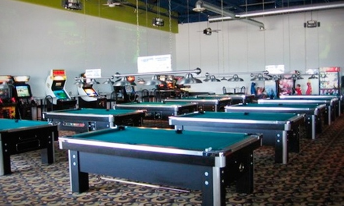 59 West - Downtown Highland: $15 for One Hour of Unlimited Pool Plus $20 Worth of Pub Fare at 59 West Entertainment Complex in Highland ($30 Total Value)