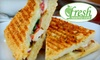 Fresh Healthy Café  - Fairlawn: $6 for $12 Worth Of Sandwiches, Smoothies, and More at Fresh Healthy Café