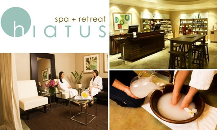 Hiatus Spa + Retreat - Bluffview: $49 Massage, Facial, or Body Treatment at Hiatus Spa + Retreat, Plus Free Initiation to the H-Circle (Up to $134 Value)