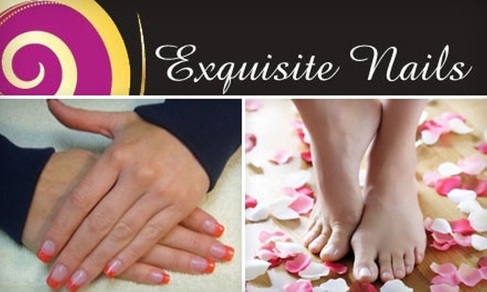Exquisite Nails - Allandale: $42 for a Sensational Mani-Pedi at Exquisite Nails ($85 Value)