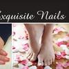 Exquisite Nails - Allandale: $42 for a Sensational Mani-Pedi at Exquisite Nails ($85 Value)