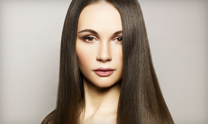 Desa Salon - Costa Mesa: Haircut Package with Blow-Dry, Conditioning, and Optional Partial Highlights at Desa Salon in Costa Mesa (Up to 75% Off)
