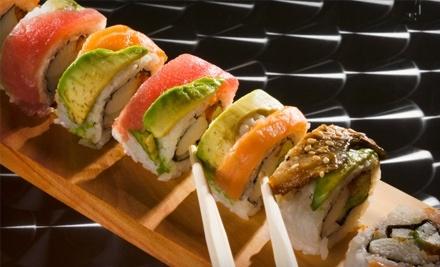 Sushi Boat Japanese Cuisine & Sushi Bar: $16 Groupon for Lunch - Sushi Boat Japanese Cuisine & Sushi Bar in Kitchener