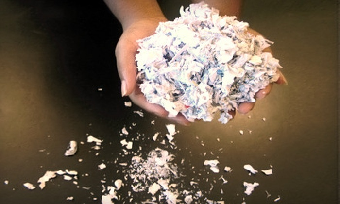 American Shredding - Multiple Locations: $75 for Pick-Up Shredding of Up to 75 Boxes of Paper from American Shredding ($250 Value)