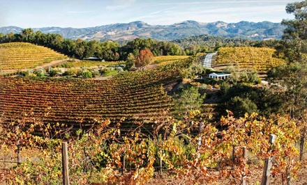 1-Night Stay for Up to Six with State-Park Visit and Wine Tastings at Jack London Lodge in Sonoma Valley, CA