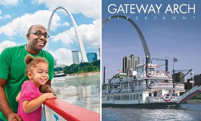 "Gateway Arch Riverboats - Downtown St. Louis: $65 for a Two-Hour Skyline Dinner Cruise for Two and One 5""x7"" Framed Photo (Up to a $114 Value)"