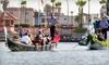 Sunset Gondola - Huntington Beach: $75 for a Gondola Cruise for Four from Sunset Gondola in Huntington Beach