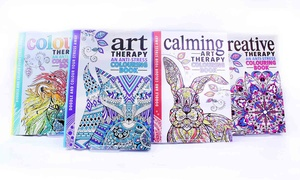Stress Relief Colouring Books