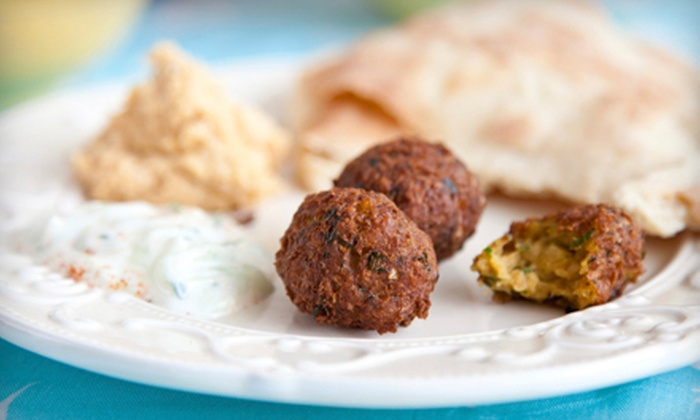 Cafe Mediterranean - Blue Ash: $10 for $20 Worth of Mediterranean Fare, Valid Monday–Thursday or Friday–Sunday at Cafe Mediterranean