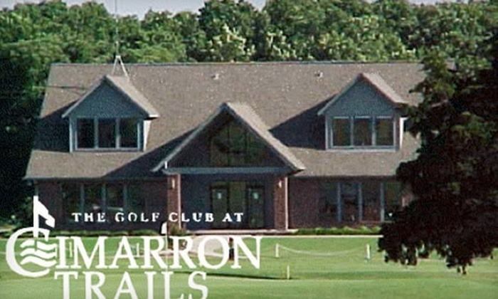 Cimarron Trails - Perkins: $15 for a Round of Golf and Cart Rental at Cimarron Trails in Perkins (Up to $36 Value)