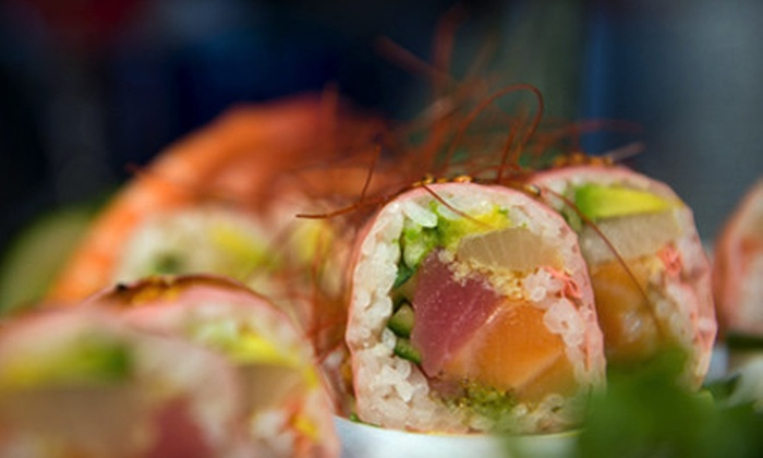Aji Japanese Restaurant - Minnetonka - Hopkins: $22 for a Sushi Dinner with Specialty Rolls and Wine for Two at Aji Japanese Restaurant in Hopkins (Up to $51 Value)