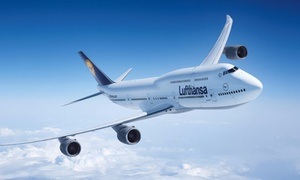 Deutsche Lufthansa AG: Bilety lotnicze Lufthansy – 9 zł za groupon zniżkowy wart 100 zł