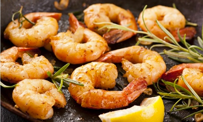 Shells Seafood Restaurant - Multiple Locations: $12 for $20 Worth of Seafood, Pasta, and Sandwiches at Shells Seafood Restaurant