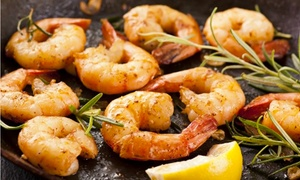 Shells Seafood Restaurant: $12 for $20 Worth of Seafood, Pasta, and Sandwiches at Shells Seafood Restaurant