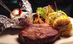 Don Luca: Rinderlenden-Steak mit Beilagen für Zwei oder Vier im Restaurant Don Luca (bis zu 52% sparen*)
