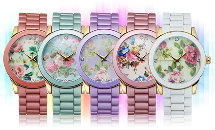 Picard & Cie Women's Floral Watches