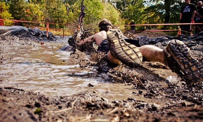 The Survival Race - Long Island Sports Park: $35 for Early-Bird Registration for 5K Mud Run on September 7 from The Survival Race ($84.34 Value)