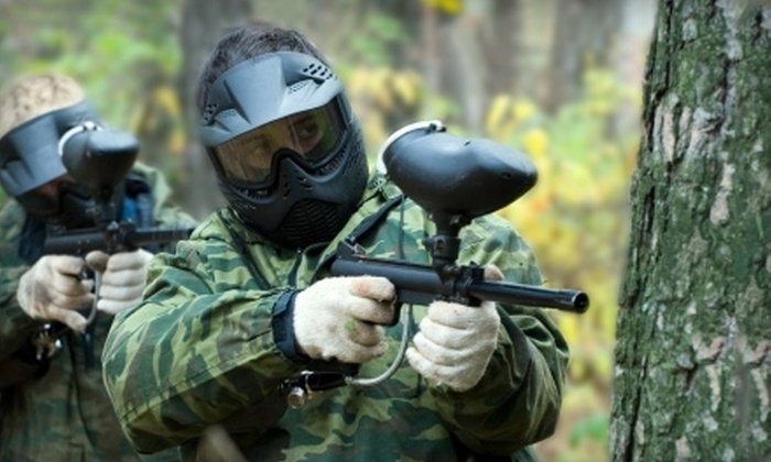 DoodleBug Sportz - Snohomish: Paintball for Two or Four with Marker and 100 Paintballs at DoodleBug Sportz (Up to 52% Off)