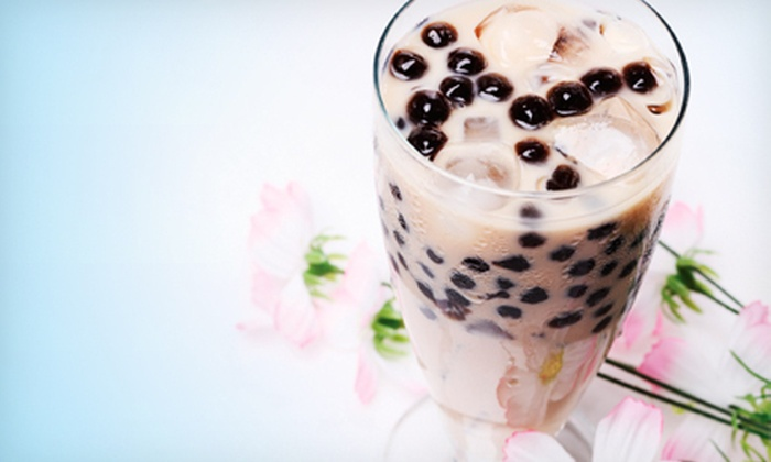 Tea N' Bowl - The Heights: $12 for Five Bubble Teas at Tea N' Bowl (Up to $32.50 Value)