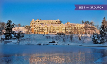 1-or 2-Night Stay for 2 in Studio w/ Dining & Spa Credit at JW Marriott The Rosseau Muskoka Resort & Spa in Minett, ON