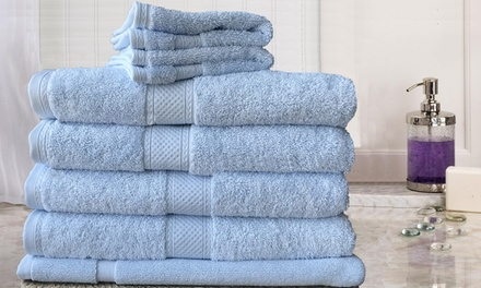 $45 for a SevenPiece Egyptian Cotton Extra Large Bath Sheet Set