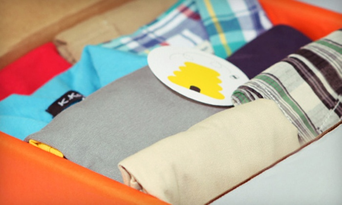 Wittlebee: One- or Two-Month Kids' Clothing-Club Membership with Monthly Delivery of 6–8 Items from Wittlebee (Up to 52% Off)