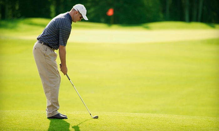 Point Venture Golf Club - Point Venture: 18-Hole Round of Golf for Two or Four with Cart Rental and Range Balls at Point Venture Golf Club (Up to 62% Off)