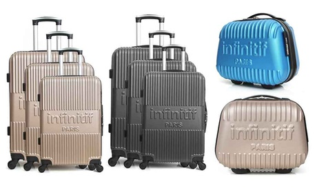 Set de 3 maletas Uppsala y neceser Mayence de la marca Infinitif Paris