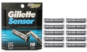 Gillette Sensor Razor Refill Cartridges (10-Pack)