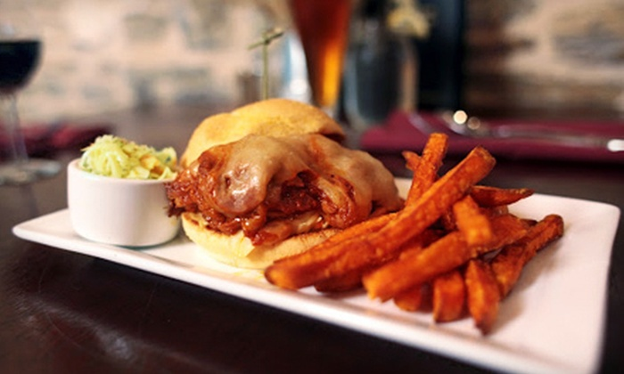 The Bordley House Grille - West Bradford: $20 for $40 Worth of Upscale American Food at Bordley House Grille in West Chester