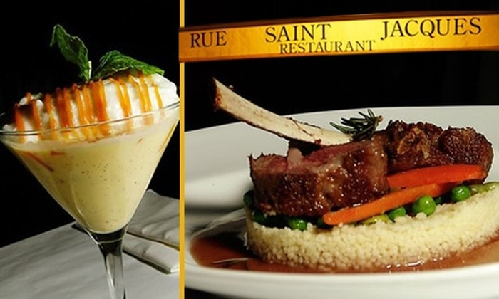 Rue Saint Jacques  - Nob Hill: $15 for $30 Worth of California-Inspired French Cuisine at Rue Saint Jacques