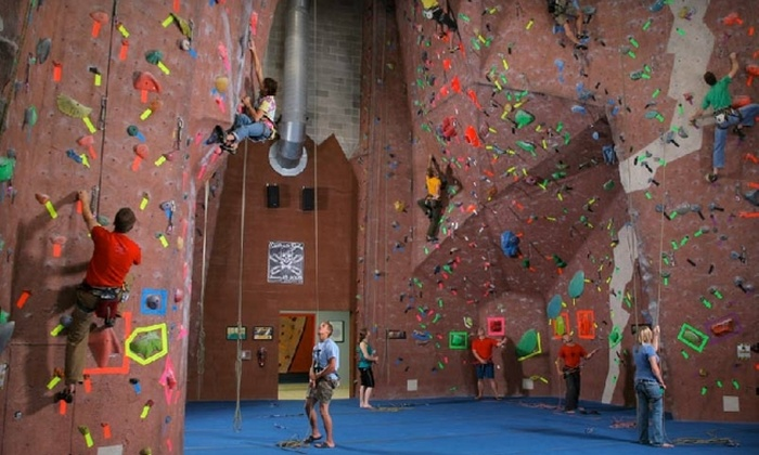 Adventure Rock Indoor Climbing Gym - Brookfield: $35 for Five-Visit Clip 'N Go Rock-Climbing Pass at Adventure Rock Indoor Climbing Gym in Pewaukee ($75 Value)