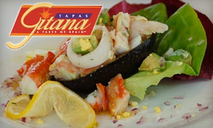 Tapas Gitana - Lakeview: $15 for $30 Worth of Spanish Cuisine and Drinks at Tapas Gitana