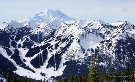 1-Night Stay for Two at Crystal Mountain Hotels in Crystal Mountain, WA. Three Properties Available. Check in Sun.–Thu.
