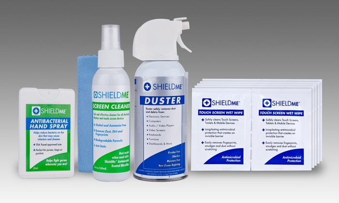 ShieldMe All-in-One Electronics Cleaning Kit: ShieldMe All-in-One Electronics Cleaning Kit.