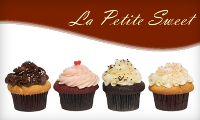 La Petite Sweet - Westmont: $18 for 24 Cupcakes ($35 Value) or $16 for 2 Pounds of Gluten-Free Cookies ($32 Value) from La Petite Sweet in Westmont
