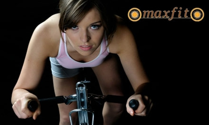 Maxfit Indoor Cycling Retreat - Tenafly: $29 for One Month of Unlimited Cycling Classes at Maxfit Indoor Cycling Retreat ($60 Value)